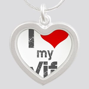 I Love My Wife Necklaces